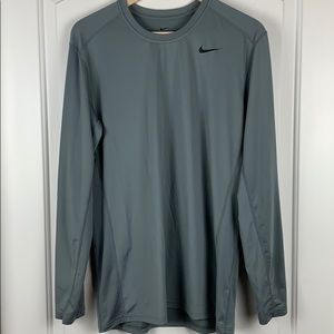 Nike Dri-Fit men's Fitted Long Sleeve Shirt